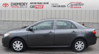 Used 2010 Toyota Corolla CE ** SEULEMENT 77 448 KM ** for sale in Laval, QC