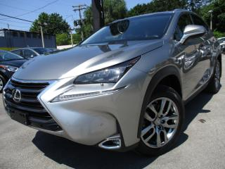 Used 2015 Lexus NX 200t NX 200T AWD NAVIGATION ~ ONE OWNER ~ BACK-UP CAM for sale in Burlington, ON