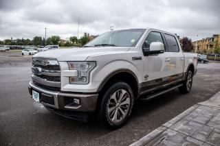 Used 2017 Ford F-150 King Ranch *reduced* Spray-In Bed liner, Off Road Package, Max trailer tow package for sale in Okotoks, AB