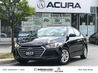 Used 2017 Hyundai Elantra Sedan LE A/C, Heated Seats, Bluetooth for sale in Markham, ON