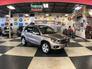 Used 2016 Volkswagen Tiguan 2.0 TSI COMFORTLINE SPORT PKG AWD LEATHER PANO/ROO for sale in North York, ON
