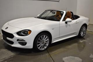 Used 2017 Fiat 124 Spider Lusso Manuelle+GPS+ for sale in Sherbrooke, QC