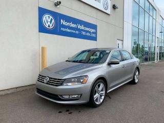 Used 2013 Volkswagen Passat 3.6L HIGHLINE W/ SPORT PKG + NAVI for sale in Edmonton, AB