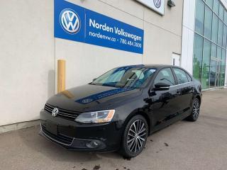 Used 2013 Volkswagen Jetta Sedan 2.0L TDI DIESEL HIGHLINE / LEATHER / SUNROOF for sale in Edmonton, AB