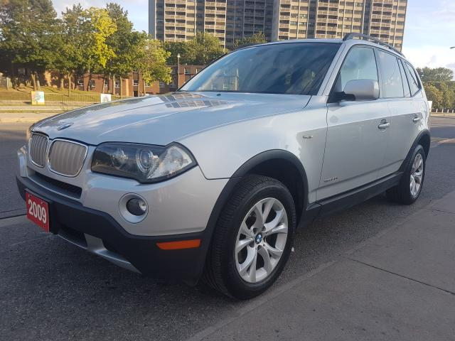 2009 BMW X3 30i- LEATHER-PANORAMA ROOF-BLUETOOTH-ALLOYS-POWER