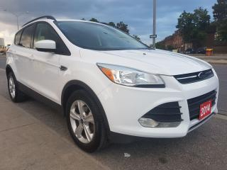Used 2014 Ford Escape SE-EXTRA CLEAN-BK UP CAM -BLUETOOTH-USB-AUX-ALLOYS for sale in Scarborough, ON