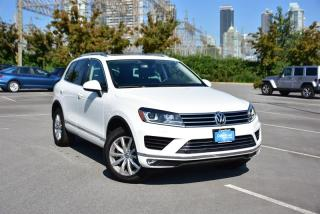 Used 2016 Volkswagen Touareg Sportline 3.6L 8sp at w/Tip 4M for sale in Burnaby, BC