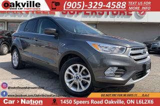 Used 2017 Ford Escape SE | HTD SEATS | B/U CAM |  CRUISE for sale in Oakville, ON