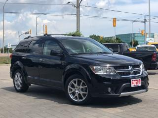 Used 2018 Dodge Journey GT*AWD*Leather*Sunroof*DVD*7 Pass for sale in Mississauga, ON