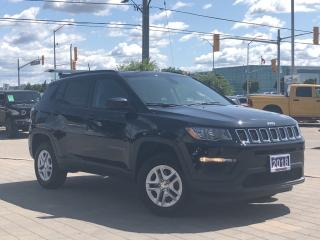 Used 2018 Jeep Compass Sport*4X4*Cold Weather GRP*Alloy Whls for sale in Mississauga, ON