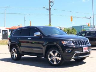 Used 2016 Jeep Grand Cherokee Limited**4X4**Leather**Sunroof** for sale in Mississauga, ON