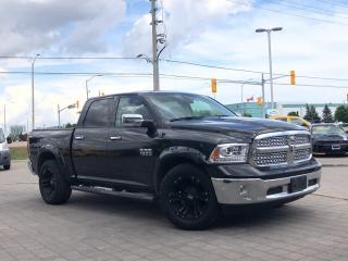 Used 2017 RAM 1500 Laramie**4X4**Leather**8.4 Touchscreen**BOX Cover for sale in Mississauga, ON