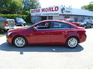 Used 2012 Chevrolet Cruze Eco w/1SA for sale in Scarborough, ON