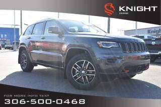 Used 2018 Jeep Grand Cherokee Trailhawk   Leather   Heated & Cooled Seats   Very Low KMs   for sale in Swift Current, SK