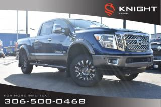Used 2016 Nissan Titan XD Platinum Reserve | Leather | Heated & Cooled Seats | Navigation | for sale in Swift Current, SK