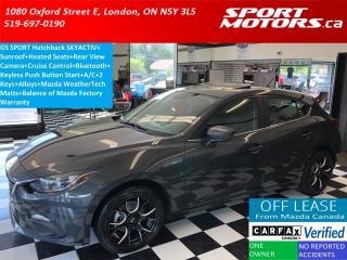 Used 2016 Mazda MAZDA3 GS Hatchback+Camera+Sunroof+Heated Seats+AC+Alloys for sale in London, ON