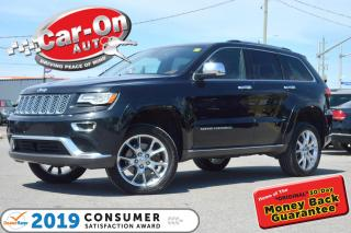 Used 2015 Jeep Grand Cherokee SUMMIT DIESEL HTD/COOLED LEATHER NAV PANO ROOF AIR for sale in Ottawa, ON