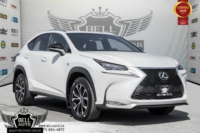 2015 Lexus NX 200t NO ACCIDENT, AWD, NAVI, BACK-UP CAM, SUNROOF, SENSORS