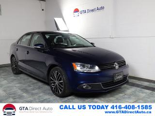 Used 2013 Volkswagen Jetta HIGHLINE TDI Sunroof Leather Bluetooth Certified for sale in Toronto, ON