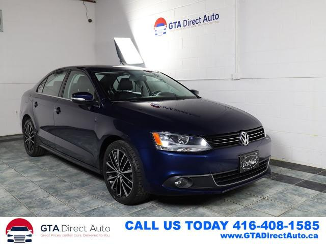 2013 Volkswagen Jetta HIGHLINE TDI Sunroof Leather Bluetooth Certified