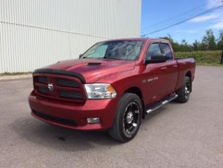 Used 2012 RAM 1500 Cabine quad 4RM, 140,5 po Sport for sale in Quebec, QC