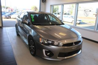 Used 2016 Mitsubishi Lancer SE LTD MANUELLE TOIT CAMÉRA MAIN LIBRE for sale in Lévis, QC