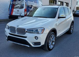 Used 2016 BMW X3 xDrive28d Diesel for sale in Dorval, QC