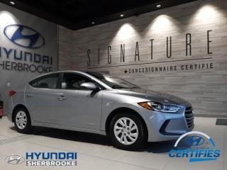 Used 2017 Hyundai Elantra L+BANCS CHAUF+GRP ÉLECT+CD/USB/AUX for sale in Sherbrooke, QC