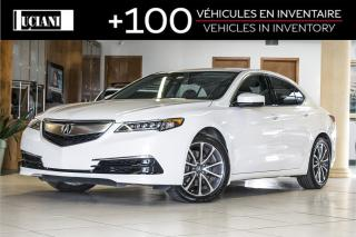 Used 2016 Acura TLX 2016 Acura TLX Tech * Certifié * Navigation for sale in Montréal, QC