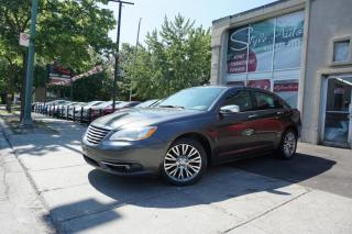 Used 2014 Chrysler 200 Berline 4 portes Limited for sale in Laval, QC