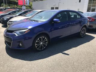 Used 2015 Toyota Corolla Berline 4 portes CVT S for sale in Val-David, QC