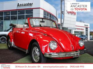 Used 1968 Volkswagen Beetle CONVERTIBLE - 1968' BUG!! RARE FIND IN GREAT CONDITION!! for sale in Ancaster, ON