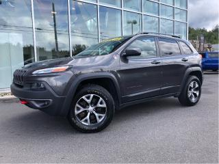 Used 2017 Jeep Cherokee TRAILHAWK V6 89$/Sem for sale in Ste-Agathe-des-Monts, QC