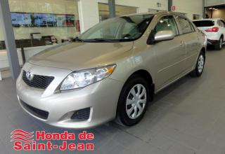 Used 2010 Toyota Corolla Berline CE Automatique A/C for sale in St-Jean-Sur-Richelieu, QC
