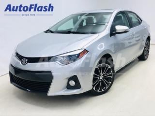 Used 2016 Toyota Corolla S Sport * Toit-Ouvrant / Sunroof * Camera * Mags for sale in St-Hubert, QC