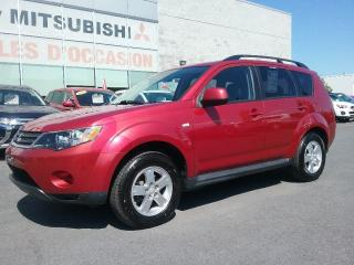 Used 2009 Mitsubishi Outlander ES | AWD | BLUETOOTH | CRUISE | A/C | MAGS for sale in St-Hubert, QC