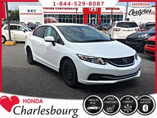 Used 2015 Honda Civic for sale in Charlesbourg, QC