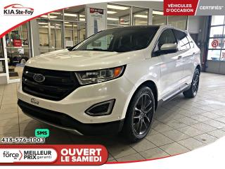 Used 2016 Ford Edge Titanium *CAMERA *TOIT *CRUISE *BT *A/C for sale in Québec, QC