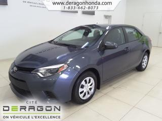 Used 2014 Toyota Corolla CE+BLUETOOTH+LECTEUR CD+VITRES ELECTRIQUES CE+BLUETOOTH+LECTEUR CD+VITRES ELECTRIQUES for sale in Cowansville, QC