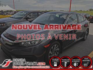 Used 2016 Honda Civic EX 4 portes CVT+GARANTIE PRLONGER for sale in Sorel-Tracy, QC