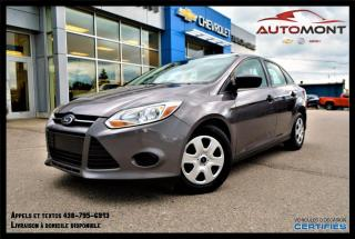 Used 2014 Ford Focus S + MANUELLE + A/C for sale in Mont-Laurier, QC