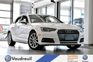 Used 2017 Audi A4 Progressiv quattro * NAV * 18 PO * for sale in Vaudreuil-Dorion, QC