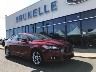 Used 2015 Ford Fusion SE hybride CUIR 8 pneus for sale in St-Eustache, QC