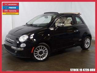 Used 2014 Fiat 500 C LOUNGE+CONVERTIBLE+UN PROPRIÉTAIRE+++ for sale in Drummondville, QC
