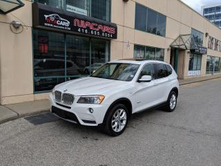 Used 2013 BMW X3 28i**PANO ROOF**NAVIGATION**360 CAMERA** for sale in North York, ON