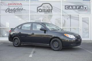 Used 2009 Hyundai Elantra GL ***RAPPORT CARPROOF DISPONIBLE*** for sale in Québec, QC