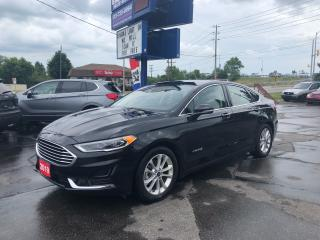 Used 2019 Ford Fusion Hybrid SEL for sale in Brantford, ON