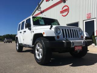 Used 2013 Jeep Wrangler Sahara for sale in Tillsonburg, ON