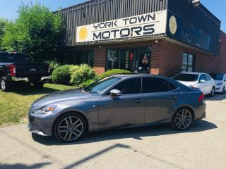 Used 2015 Lexus IS 250 F-Sport3/AWD/RedInt/Nav/SunRf/OneOwner/NoAcc for sale in North York, ON