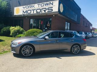 Used 2015 Infiniti Q50 LimitedTech/LTD w/DriverAssist/AWD/Nav/RCam/1Owner for sale in North York, ON